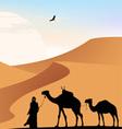Desert View vector image