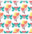 dove birds seamless pattern background birdie vector image