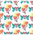 dove birds seamless pattern background birdie vector image vector image
