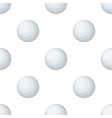 golf ballgolf club single icon in cartoon style vector image vector image
