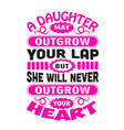 mother day quote and saying good for print vector image vector image