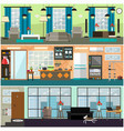 plumbing moving and delivery services interior vector image vector image