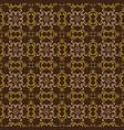 unique flower motifs on javanese batik design vector image vector image