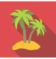 Cap icon flat style vector image