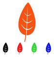 flora leaf icon vector image vector image