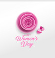 happy women s day poster template vector image vector image