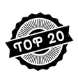 Top 20 rubber stamp vector image vector image
