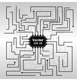 background with circuit board vector image