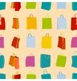 Shopping bags seamless vector image