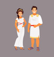 ancient greek costume vector image