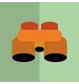 Binoculars icon design vector image