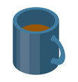 cup of tea icon isometric style vector image vector image
