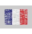 France flag design concept vector image vector image