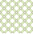 seamless background White wallpaper with green vector image vector image