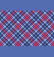 tartan seamless pattern check fabric texture vector image