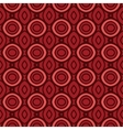 Terracotta pattern with rounds vector image