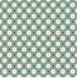 White And Green Seamless Pattern Oriental Style vector image vector image