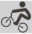 cycling BMX icon vector image vector image