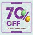 easter egg sale banner background template 21 vector image vector image