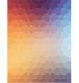 Orange Violet polygonal background for web design vector image vector image