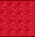 red abstract diagonal tile mosaic pattern vector image vector image