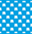 shorts pattern seamless blue vector image vector image
