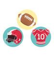 three american football icons