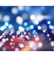 abstract bokeh vision background design vector image vector image