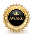 Award Badge vector image vector image