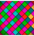 Bright colors mosaic pattern vector image vector image