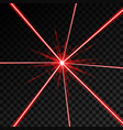 creative of laser security vector image vector image