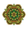 Mandala pattern flower vector image vector image