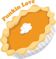 Punkin Love vector image vector image