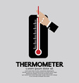 Thermometer For Weather vector image