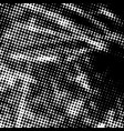 distressed halftone texture vector image vector image