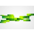 Green abstract hi-tech motion background vector image vector image