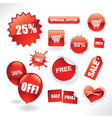 sale items vector image vector image