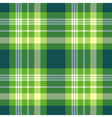 seamless plaid pattern in bright green yellow and vector image vector image