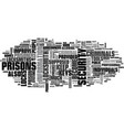 when do prisons need locksmiths text word cloud vector image vector image