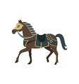 Knight s War Horse vector image