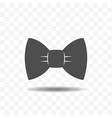 bow tie icon design concept vector image