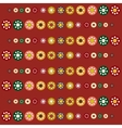 Abstract seamless red pattern season holidays vector image vector image