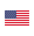 america flag icon national emblem of usa vector image