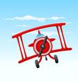 Cartoon old plane