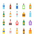 Color icon set - bottle and beverage