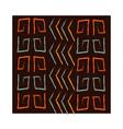 ethnic handmade ornament tribal decoration vector image vector image