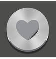 heart apps icon vector image