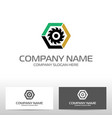 oil industry logo design vector image