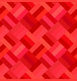 red abstract diagonal tile mosaic pattern vector image vector image