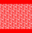 red rose pattern seamless vector image vector image
